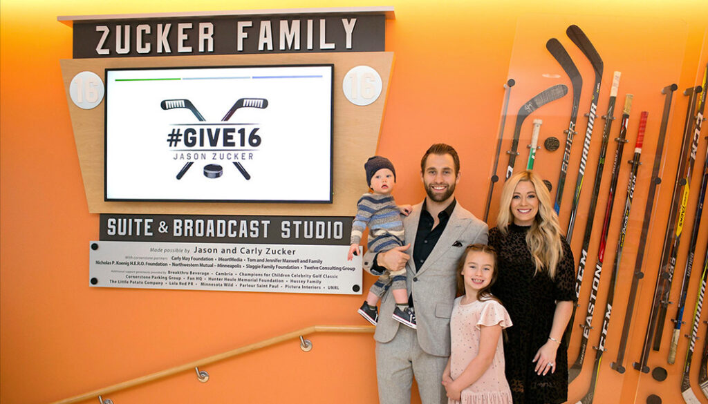 The Zucker Family in the Zucker Family Suite.